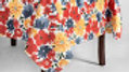 Cream Floral Oblong Tablecloth - Threshold™