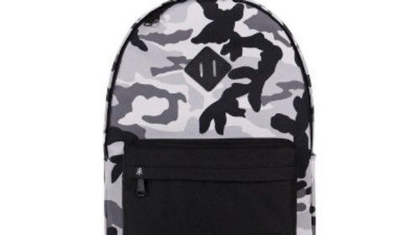 "Parkland 18"" Camo Print Palo Backpack - White"