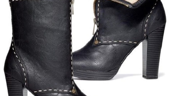 """""""TWO WAYS ABOUT IT"""" BOOTIES"""
