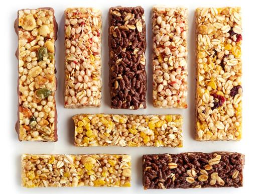 The healthiest granola bars