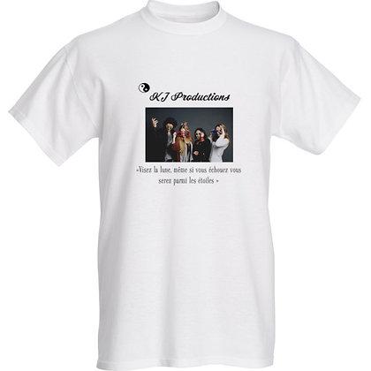 T-Shirt standard (S,M,L,XL,XXL)