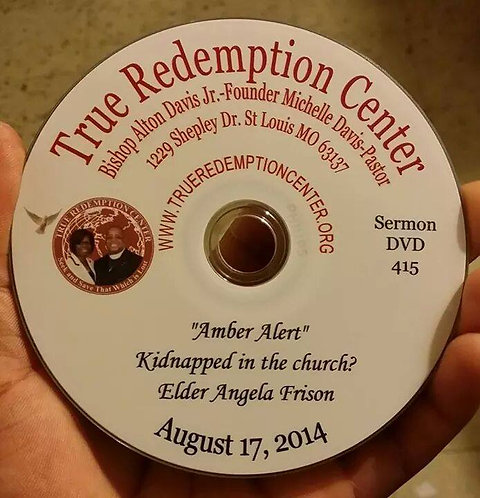 Amber Alert Kidnapped in the Church? 8/17/14
