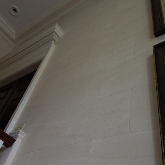 Faux Limestone walls