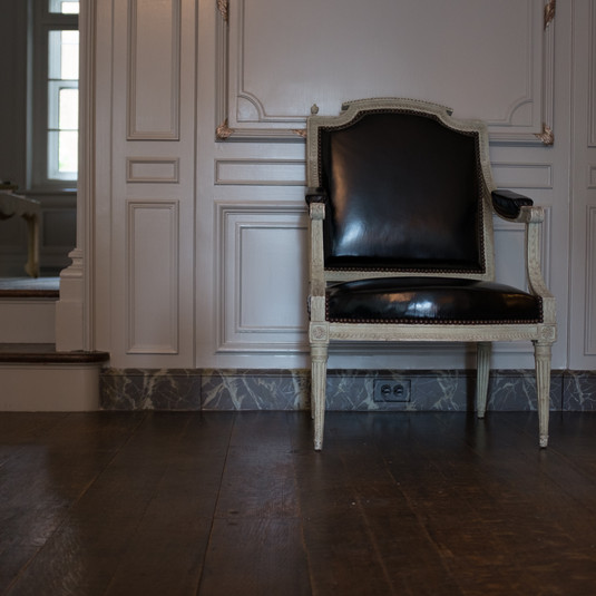 Faux Marble baseboards