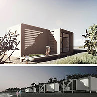 111arq REEF HOUSE - Housing complex Sea-crete