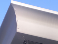 Curved Fascia Gutter System