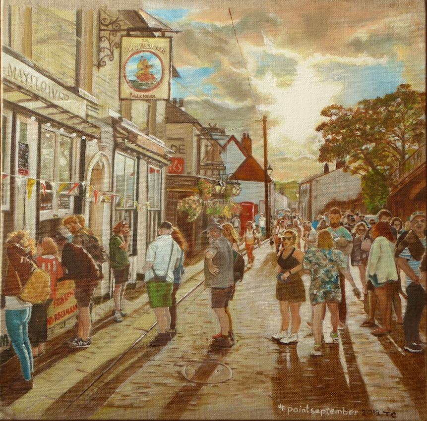 #paintseptember2019, Teresa Cutmore