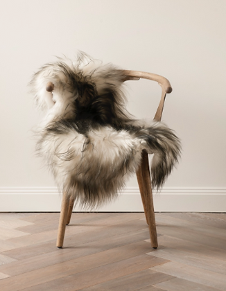 ICELANDIC SHEEPSKIN  Natural Flecked