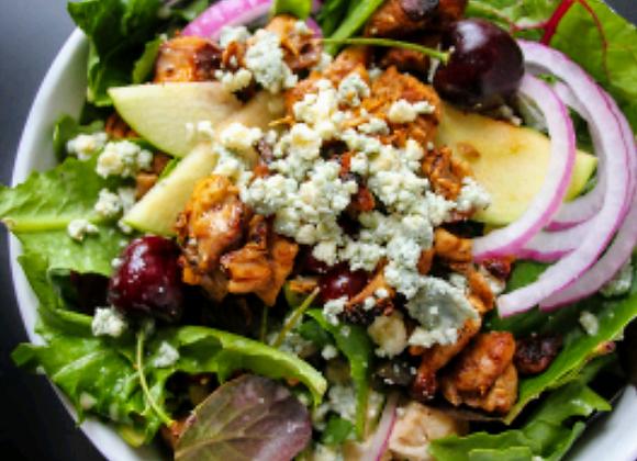 Apple Blue Chicken Salad