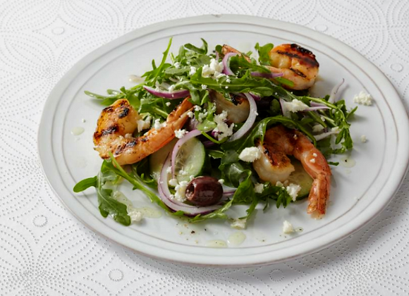 Caprese Shrimp Salad