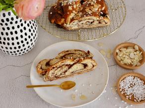 Hefezopf mit Crunchy Cream
