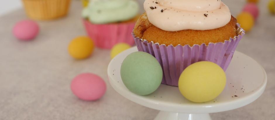 Vanille Cupcakes zu Ostern