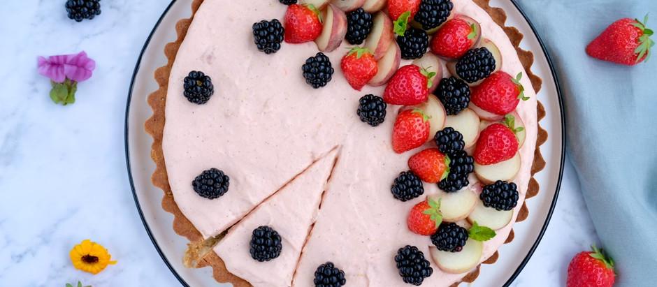Pfirsich-Joghurt-Tarte