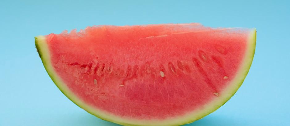 Wassermelonen-Himbeer-Eis