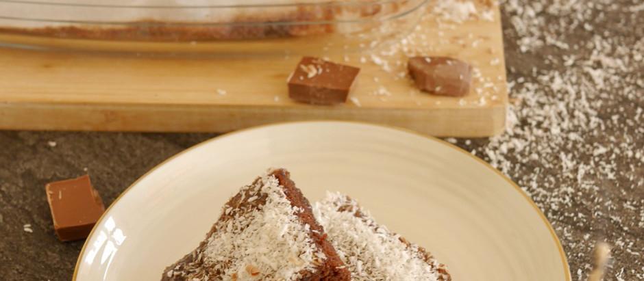 schwedische Schokoladen-Kokos-Schnitten