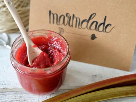 Rhabarber-Himbeer Marmelade