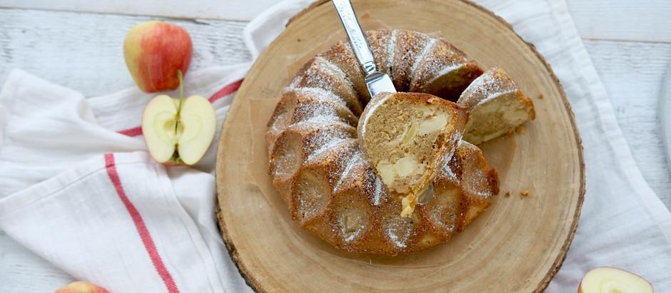 Apfel-Weißbier-Gugelhupf