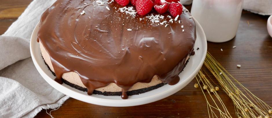 Triple Chocolate Cheesecake (no bake)