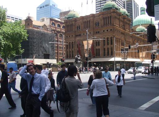 Sydney Internship Placements, Fall 2018