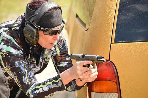 Combat Pistol (3-days course): WOMEN ONLY! (DEPOSIT)