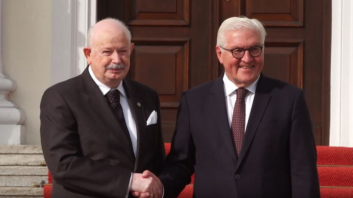 Visit to the German President