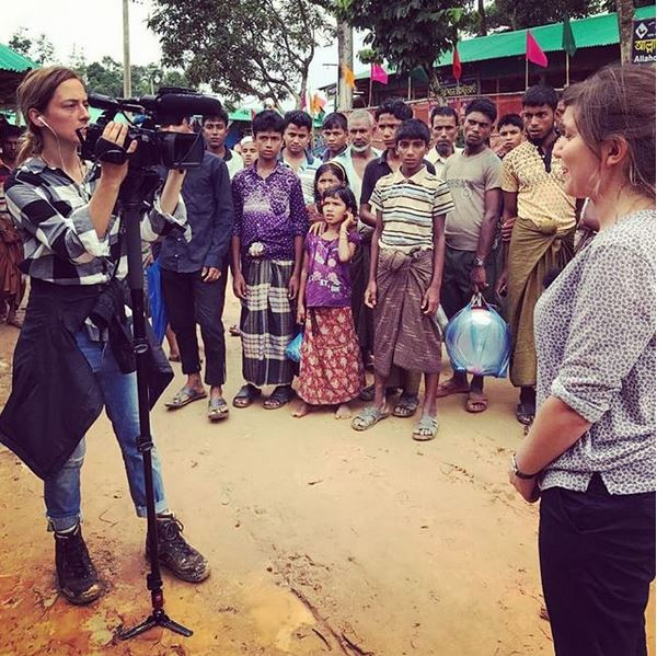 Filming in Bangladesh