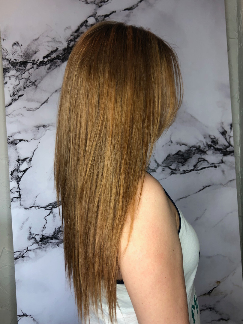 Strawberry Blonde Tape In Extensions