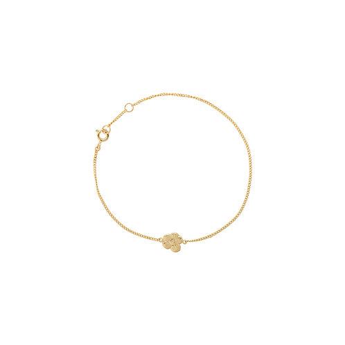 Soul Flower Bracelet Goldplated