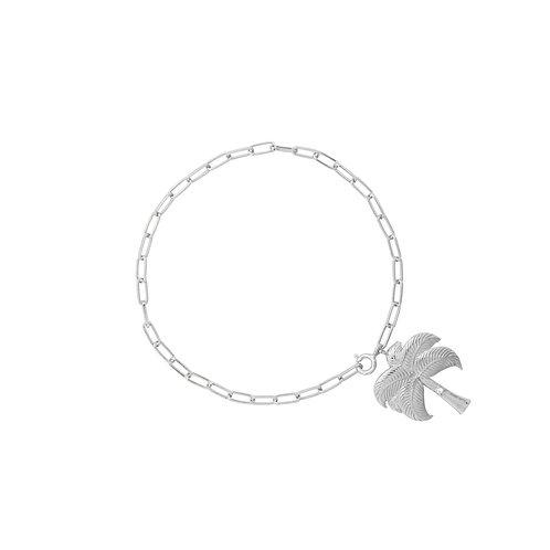 Twinkling Palm Bracelet Silver