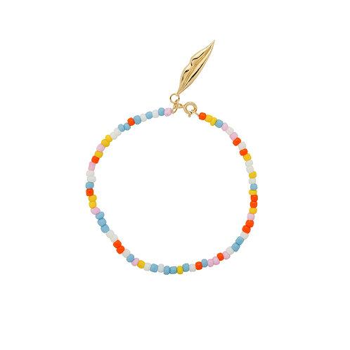 Coloured Dream Bracelet Goldplated