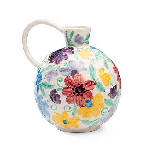 Floral Vase in Blush Pink