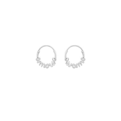 Amour Small Hoop Earring Silver