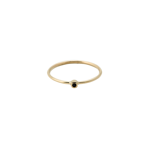 Meteorite Ring 14K