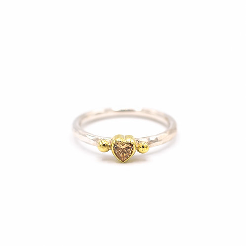 Perfect double LOVE ring