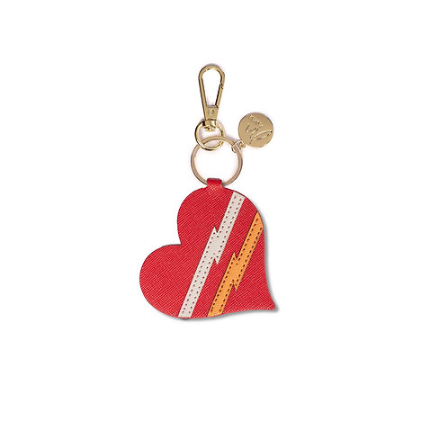 "Bagcharm ""heart red"""