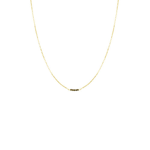 Tourmalin Chain Necklace