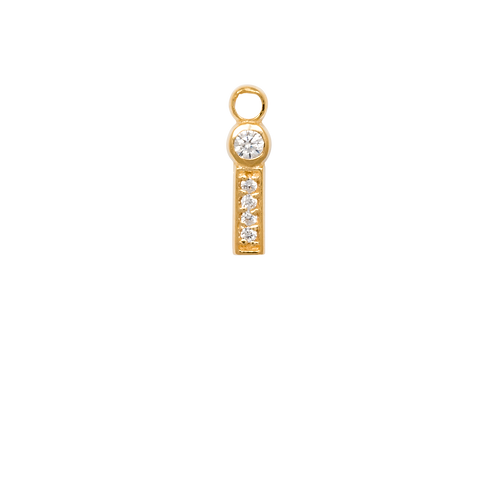 #3 Mix & Match single pendant in gold plated sterling silver