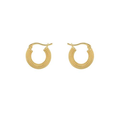 Pyramid Ring Earrings