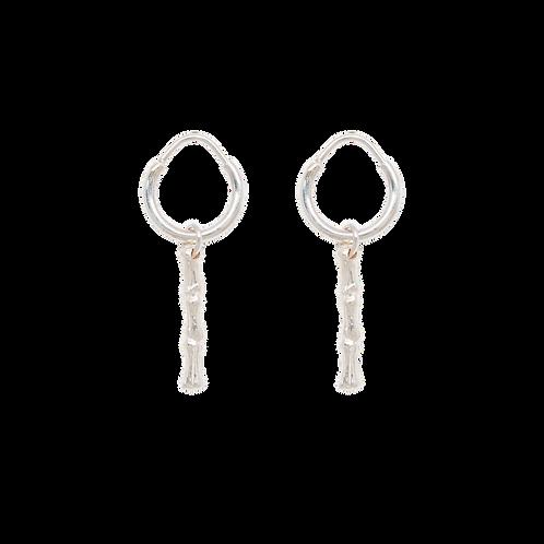 Bones Bar Ring Earring