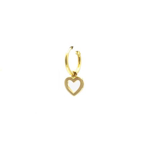Single love earring