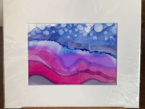 """5x7"""" Alcohol Ink Painting"""