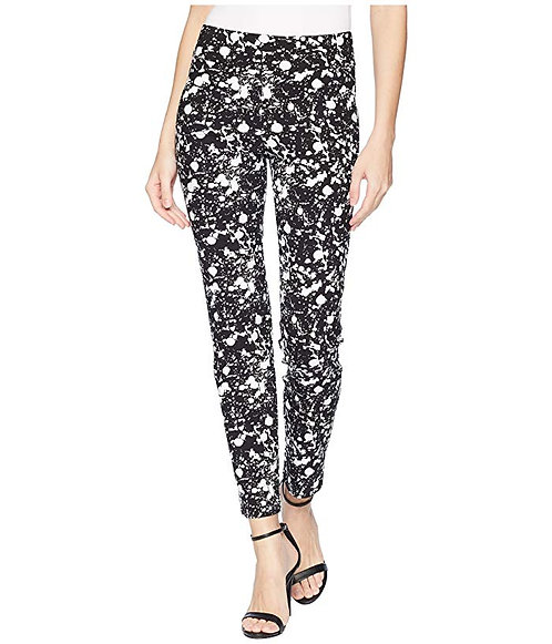 Krazy Larry Pull On Pant - Black Splatter