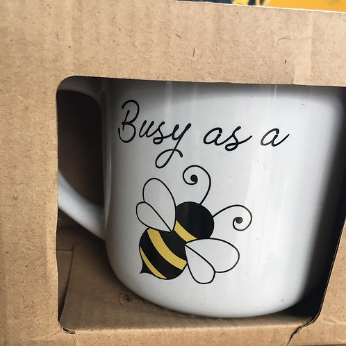 Bee-themed Coffee Mugs
