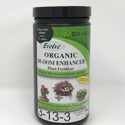 EVOLVE Organic Bloom Enhancer 3-13-3 fertilizer