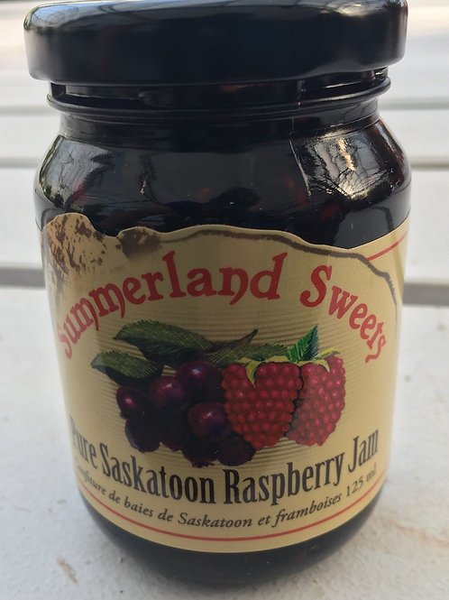 Summerland Sweets Pure Saskatoon Raspberry Jam