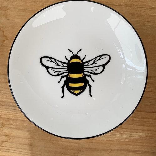 Bee Plate - 5-inch diameter