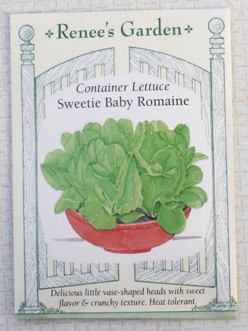 Renee's Garden Lettuce - Container Sweetie Baby Romaine