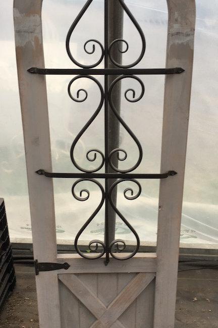 Decorative door-look panel