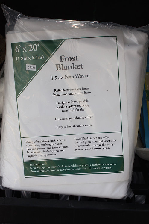 Frost Blanket - 6ft x 20ft (1.8m x 6.1m)
