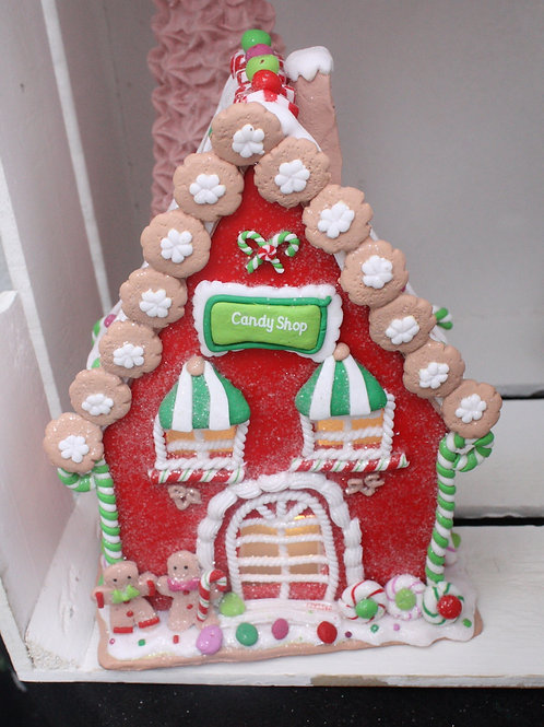 Gingerbread Candy Shop - LED